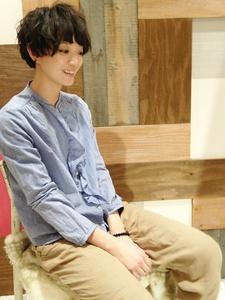☆マッシュウェーブ☆バング&顔周りで見せる小顔カット|TAKE CARE OR RENATAのヘアスタイル