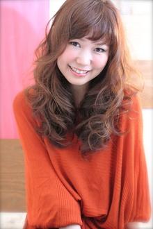 伸ばしかけロングクラシカルルーズ☆カール|TAKE CARE OR RENATAのヘアスタイル
