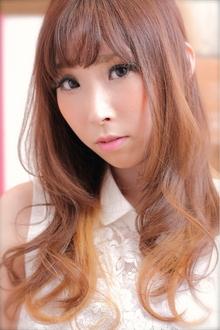 ☆優しく柔らかく×オレンジベージュカラー|TAKE CARE OR RENATAのヘアスタイル