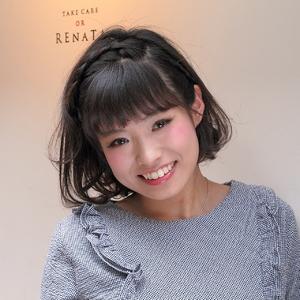 簡単スタイリング ヘアアレンジ・ルーズ☆ヘアセット|TAKE CARE OR RENATAのヘアスタイル