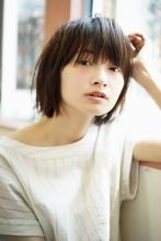 セミウエットなラフBOB|Magico 佐藤 翔のヘアスタイル