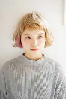 デザインカラーふんわりボブ!!!|Magicoのヘアスタイル