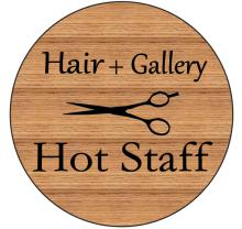 Hair Gallery Hot staff  | ヘアーギャラリー ホットスタッフ  のロゴ