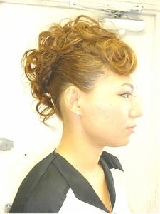 モヒカン風セット|COCO-b-salon 銀座店のヘアスタイル