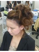 サイドポンパ|cocot 銀座店 緒方 裕香里のヘアスタイル