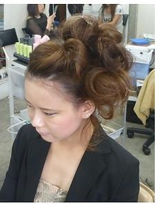 サイドポンパ|COCO-b-salon 銀座店のヘアスタイル