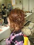 スジ盛り・浴衣セット|cocot 銀座店のヘアスタイル