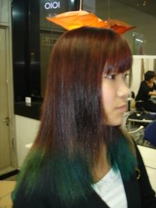 Wカラー|COCO-b-salon 銀座店のヘアスタイル