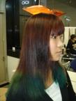 Wカラー cocot 銀座店のヘアスタイル