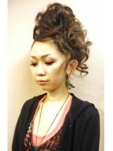 あげモヒ|cocot 銀座店 緒方 裕香里のヘアスタイル