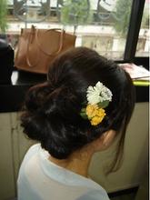 花|cocot 銀座店 緒方 裕香里のヘアスタイル