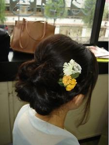 花|COCO-b-salon 銀座店のヘアスタイル