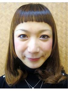 ショート バング|COCO-b-salon 銀座店のヘアスタイル