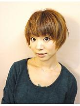 無造作くせ毛風ショート|COCO-b-salon 銀座店のヘアスタイル
