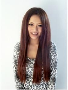 大人かわいいカラー&エクステ|COCO-b-salon 銀座店のヘアスタイル