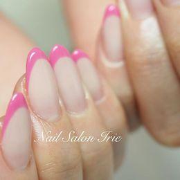 細フレンチネイル|Nail Salon Irieのネイル