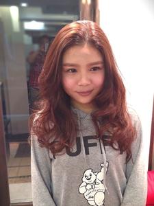 ゆるふわウェーブ|Rhizome 新小岩店のヘアスタイル