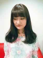 オルチャンヘア|Rhizome 新小岩店のヘアスタイル