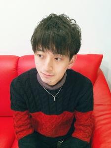 ショートマッシュ Rhizome 新小岩店のヘアスタイル