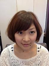 2セクションエアリーボブ|Rhizome 新小岩店 KOMIYAMA NAOKIのヘアスタイル