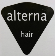 alterna-hair  | オルターナ ヘアー  のロゴ
