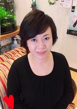 ショート外ハネカール|Hair Yielding BIKIのヘアスタイル
