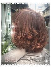 3Dカラーふんわりボブミディアム🎶|Hair Yielding BIKIのヘアスタイル