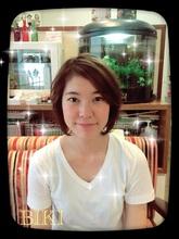 ゆらめくフワフワボブ(^_^)|Hair Yielding BIKIのヘアスタイル