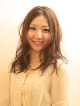 ふんわりクリアな透明感☆ TRON 美容室 土田 勇のヘアスタイル
