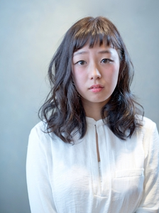 王道☆ふんわりミディ|Laurenのヘアスタイル