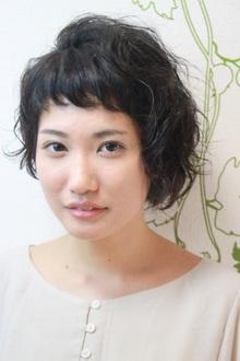 あしめぼぶ+しょーとばんぐ+ぱーま。|hair salon Reginaのヘアスタイル