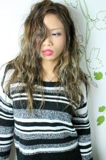 ☆バレイヤージュで見せるアンニュイグラデーションカラー☆|hair salon Reginaのヘアスタイル