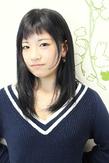 ☆黒髪ベビーバングなアンニュイセミディ☆|hair salon Reginaのヘアスタイル