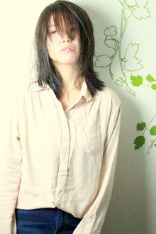 ☆セミドライなクールセミディ☆|hair salon Reginaのヘアスタイル