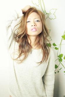 ☆ハイトーンカラーでセミウェットなニュアンスロング☆|hair salon Reginaのヘアスタイル