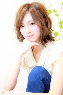 ☆大人可愛いゆるリラ鎖骨ミディ☆|hair salon Reginaのヘアスタイル