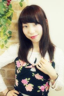 ☆大人可愛いリラックスストレート☆|hair salon Reginaのヘアスタイル