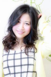 ☆オールマイティ好印象の黒髪ナチュラルセミディ☆