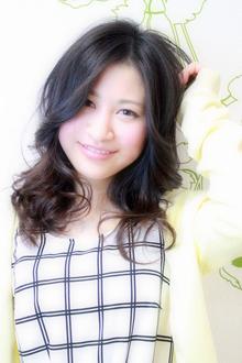 ☆オールマイティ好印象の黒髪ナチュラルセミディ☆|hair salon Reginaのヘアスタイル