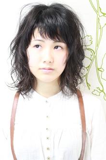 ☆清楚感が漂う黒髪リラクシーミディ☆|hair salon Reginaのヘアスタイル
