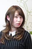 プチ☆グラデーション春の重軽ロング|hair salon Reginaのヘアスタイル