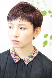 ガーリー&モードな60's年代風ショート|hair salon Reginaのヘアスタイル