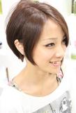 ゆる上品なメルティショート|hair salon Reginaのヘアスタイル