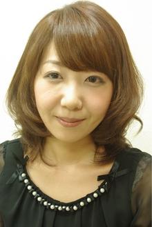 上品ツヤ髪ナチュラル|hair salon Reginaのヘアスタイル