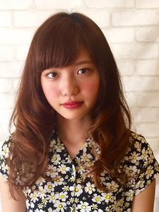 モテふわパーマ|Brella hair designのヘアスタイル