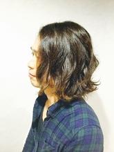 ナチュラルパーマ(メンズ)|Brella hair designのメンズヘアスタイル
