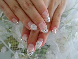 ♪花嫁さまネイル♪|ブライダルネイルサロン Tiaraのネイル