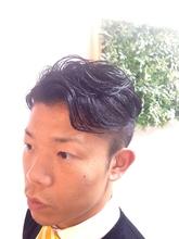 ニュアンスカール2ブロック|Growのメンズヘアスタイル