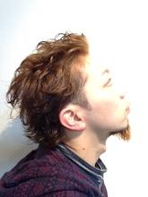 ワイルド2ブロック|Growのメンズヘアスタイル