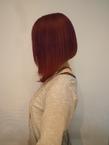 ツヤサラベルベットレッド|Growのヘアスタイル